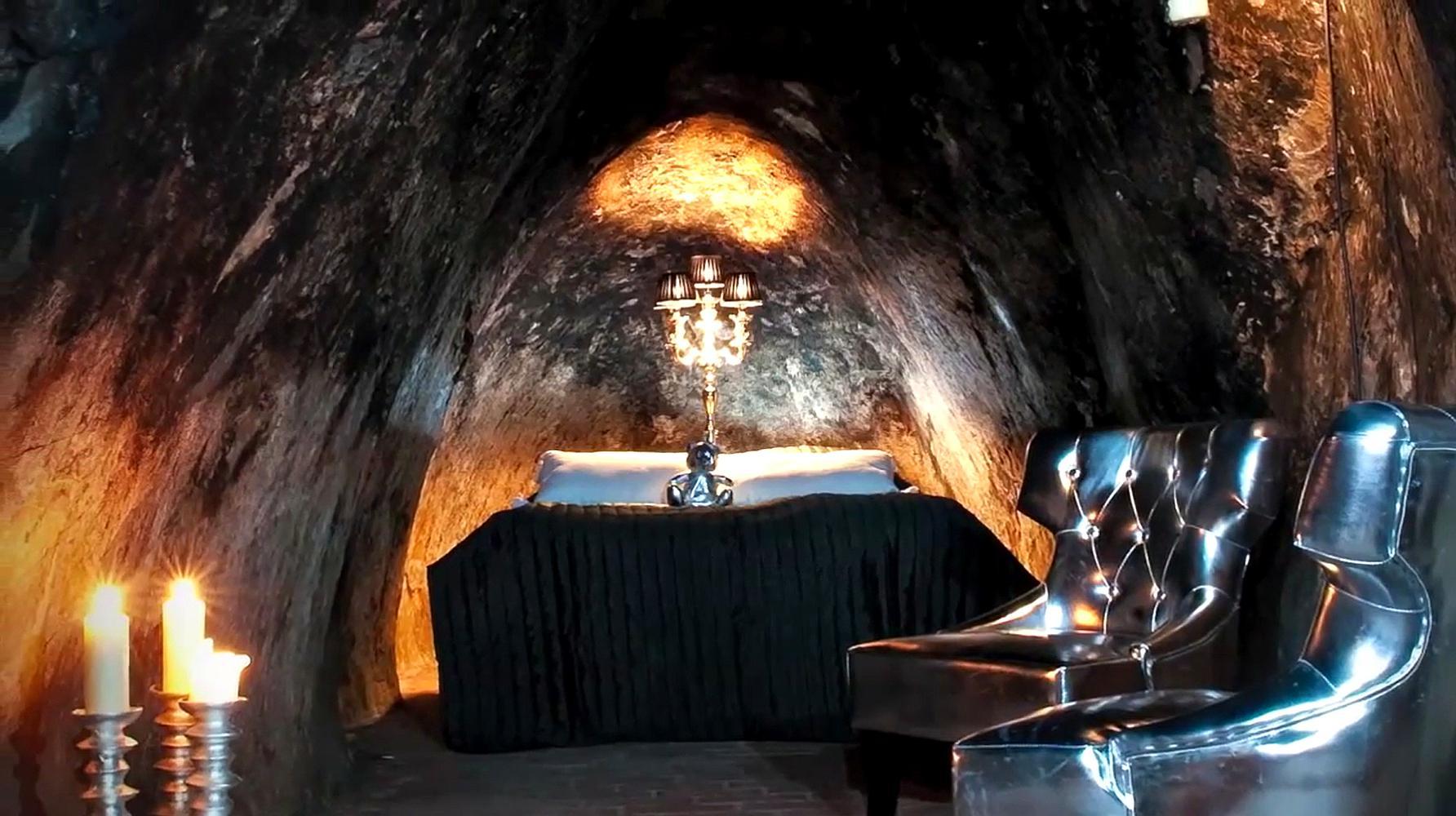世界最深地下酒店住在155米的银矿中,4000一晚连厕所都找不到!