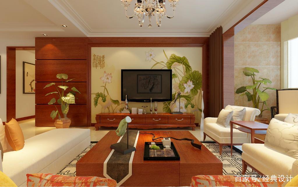 160平单位宿舍三居中式,入户玄关及客厅阳台设计温馨图片
