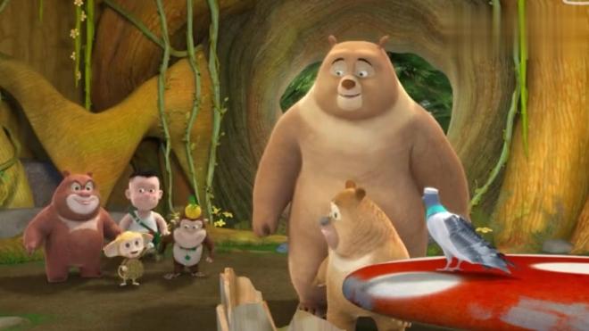熊熊乐园最新季:熊二妈妈回来了大家总算放心了