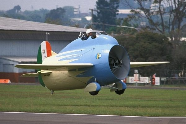 二战时意大利设计的这款飞机战斗力多少不知道,但肯定能萌死敌军