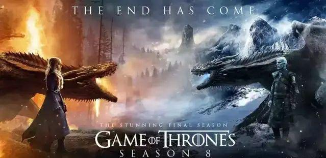 《权力的游戏》第八季各集时间表,每一集都是电影标准
