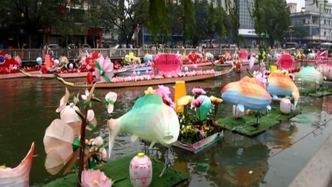 @佛山街坊!里水有美丽的水上花市,你要来见识吗?