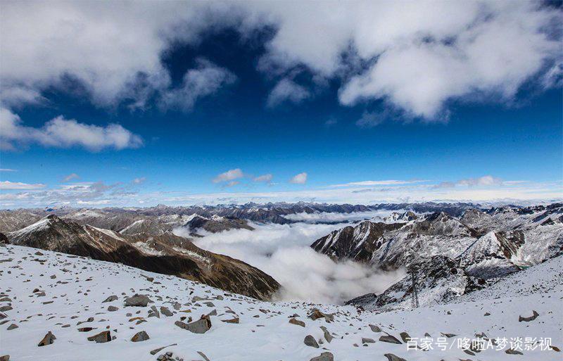 我国四川黑水达古冰川风景摄影图片,太震撼了!