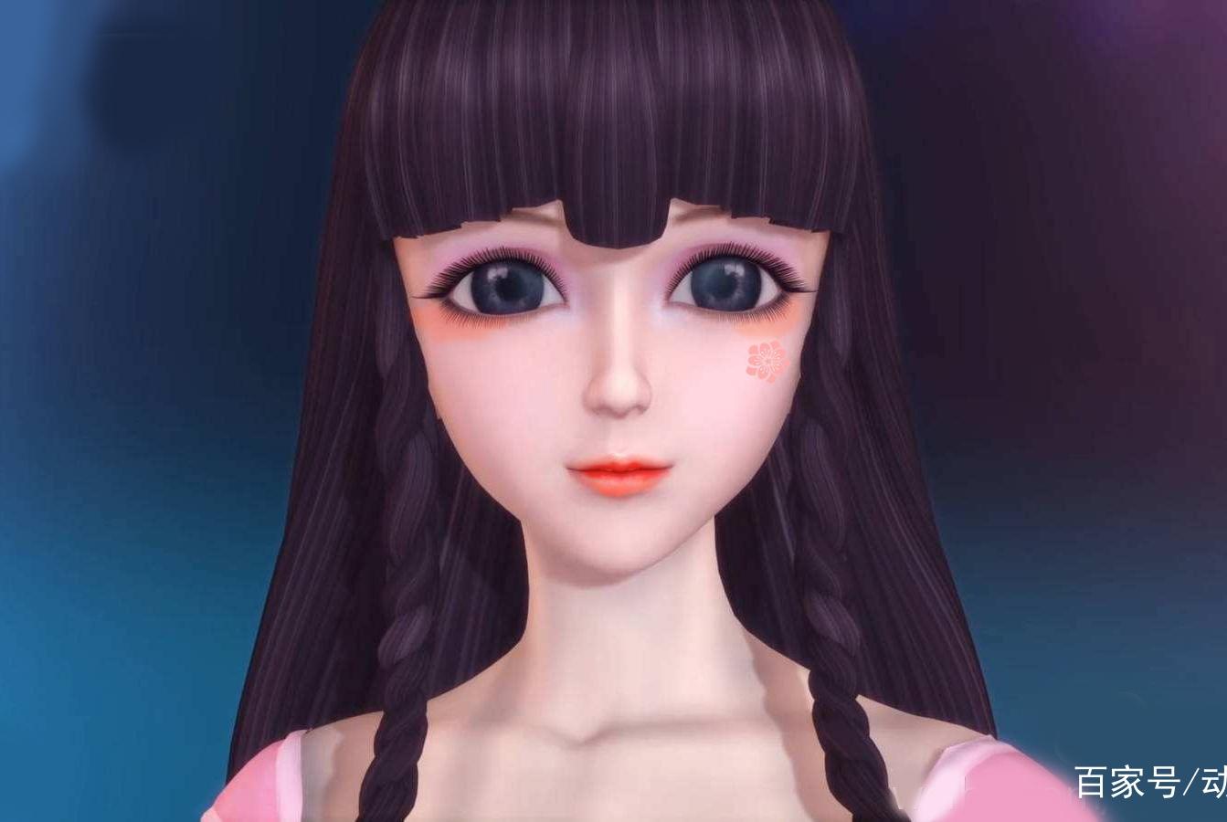 """叶罗丽:当女神们化上""""樱花妆"""",王默甜美可爱,冰公主灿烂纯真"""