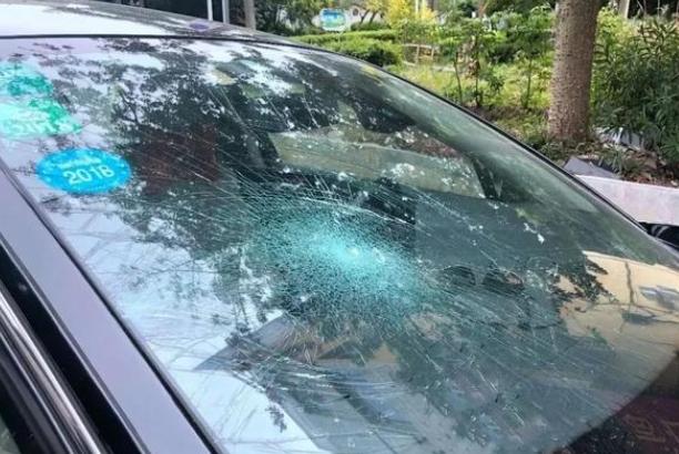 """理赔人员:挡风玻璃被砸不赔!老司机:因为你说了一个""""是""""字!"""