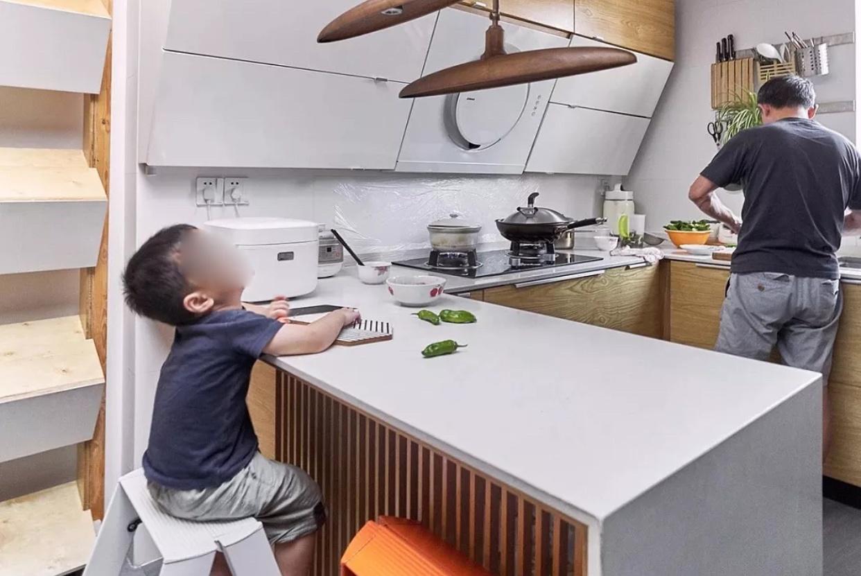 以后有房子,厨房要这样装,实用又美观,待在家里每天做好吃的!
