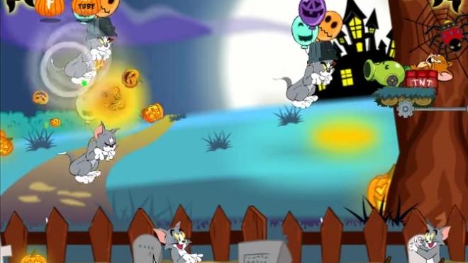 猫和老鼠的万圣节游戏