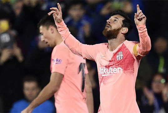 巴萨可以提前庆祝了!一场2-0让西甲变天,梅西又给足坛一道难题
