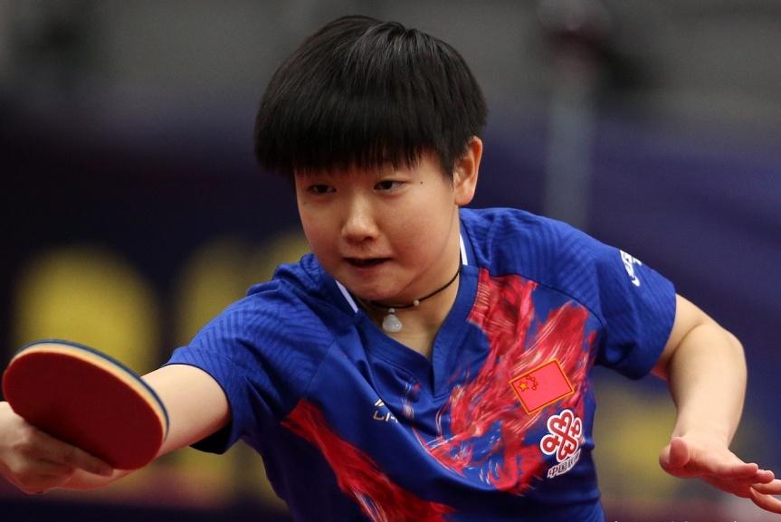 脱颖而出!国乒两大新生代小魔王的战斗,她从直通赛将走到最后?