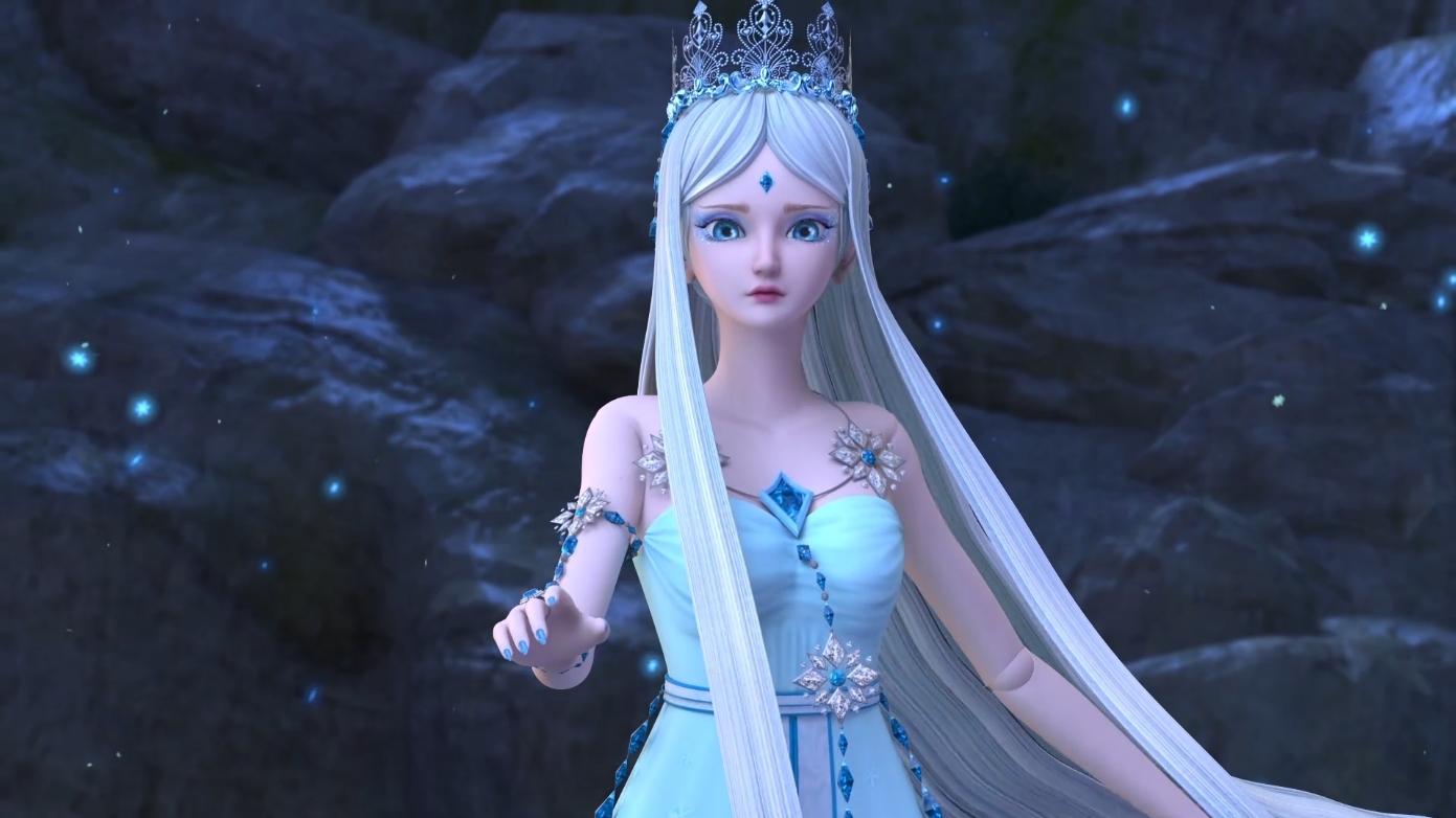 叶罗丽精灵梦:齐娜为拯救大家向冰公主下跪,庞尊发现图片