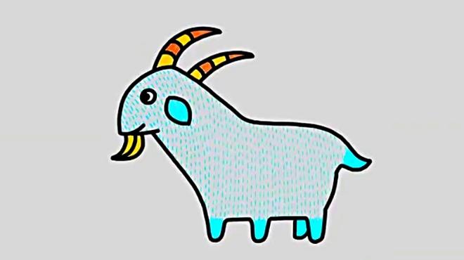 一分钟学会画创意苹果房子 丫孩 07:04 儿童画可爱的长颈鹿  宝宝的