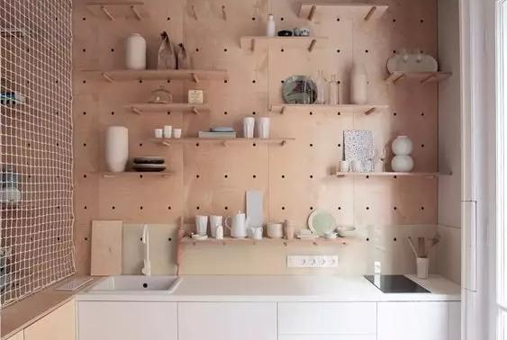 12款洞洞收纳板,很适合小户型的收纳方式,瞬间爱上时尚实用的家