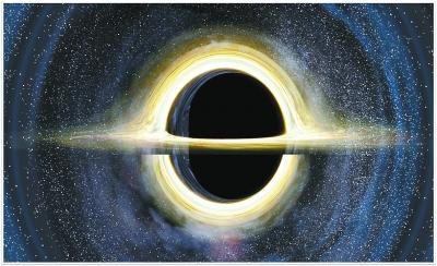 古老的星体最终演变成黑洞,银河系中心黑洞质量约为250万个太阳