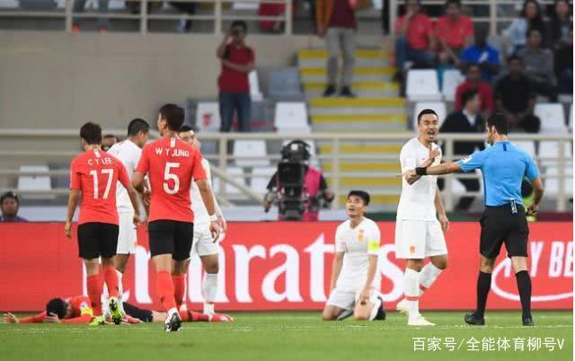 亚洲球队8战0胜_国足险被韩国5-0吊打,郑智惨败孙兴慜,中国队年轻化势在必行