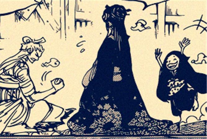 海贼王938:小紫1句话暴露她母亲另1个预言,狂死郎隐藏第2身份!
