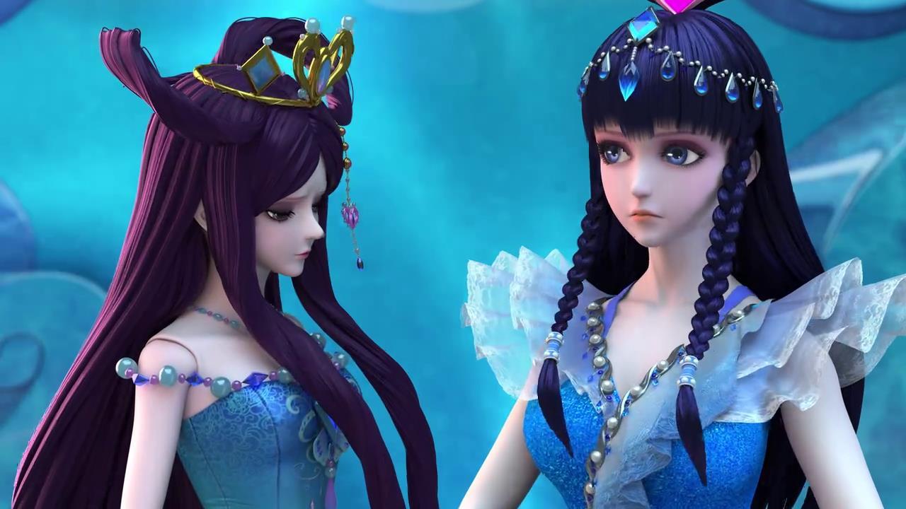 叶罗丽第七季:变化最大的五个夜萝莉仙子,茉莉公主变胖了!图片