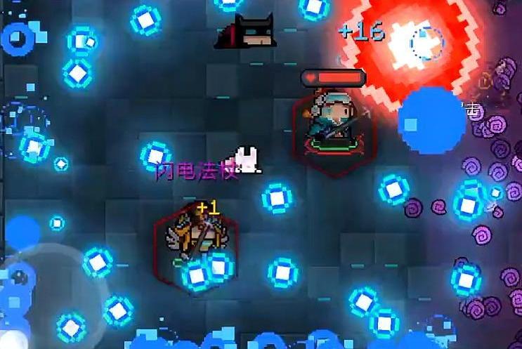 元气骑士:这把武器被称作小闪电法杖,满配后全屏闪电比肩紫武!