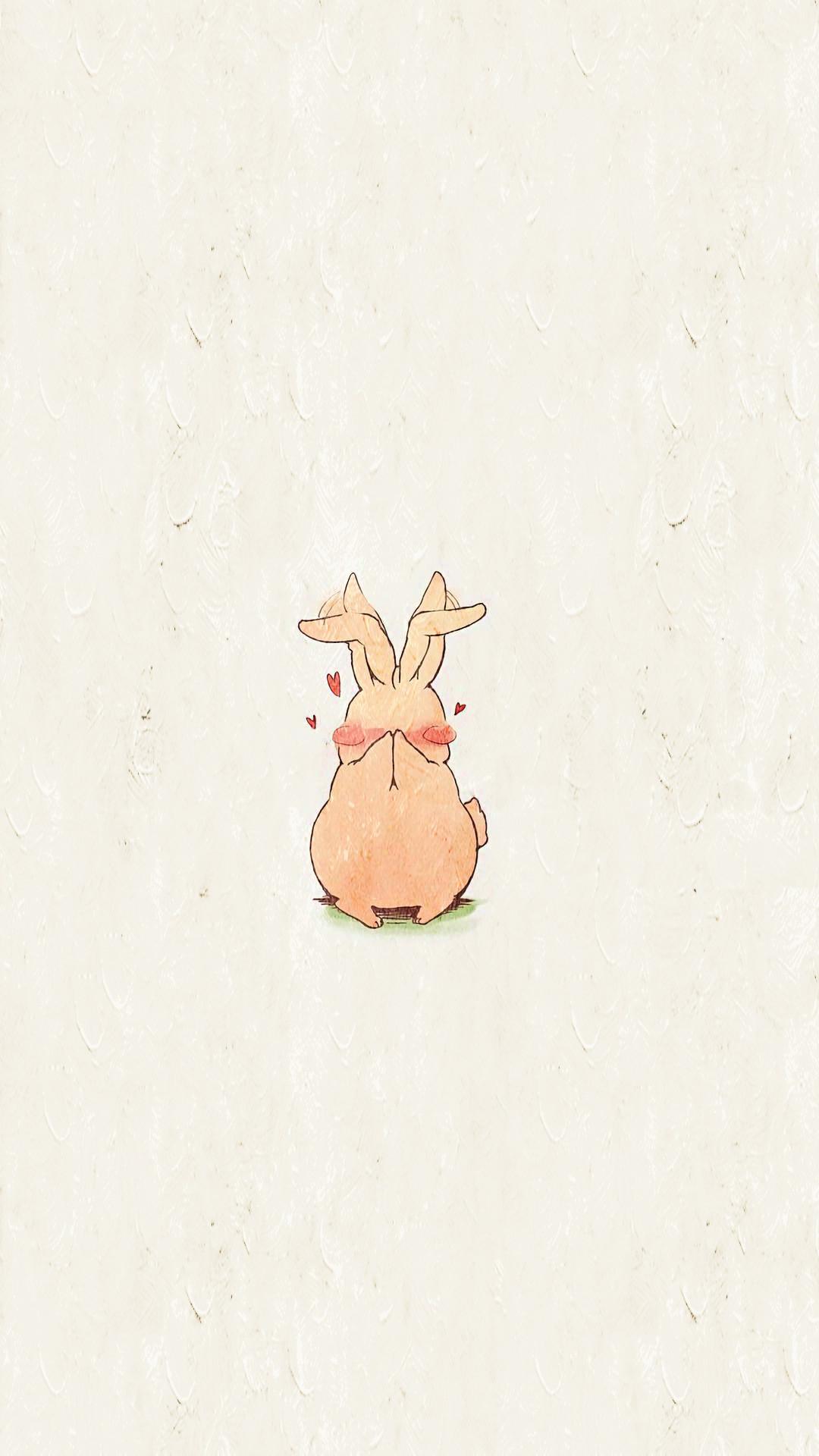 动漫壁纸:萌系卡通手机壁纸,软萌的小兔子太可爱了