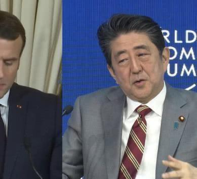 安倍遇上棘手事:马克龙拿奥运丑闻作要挟,刚向日本摊牌