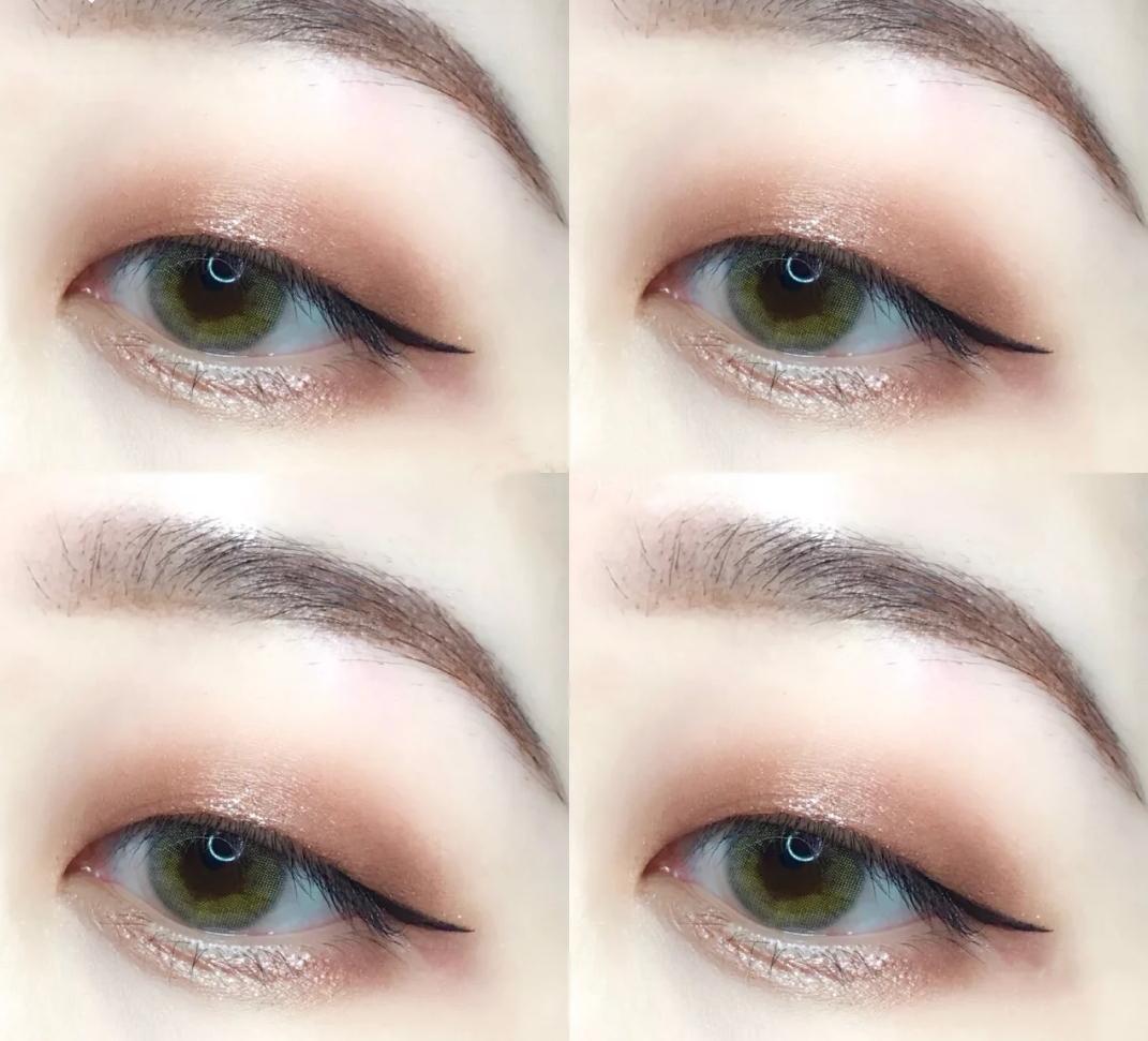 眼妆是很多小仙女化妆必不可少的一个步骤。那些大眼睛双眼皮的小仙女画出来的眼睛一闪一闪的好像可以容纳星辰大海。但是肿眼泡单眼皮的妹子好像怎么画眼妆,出来的效果都很难看。不仅会显得眼睛更加肿,而且画眼线也会晕成大熊猫。导致很多肿眼泡和单眼皮的妹子都不能美美地画上一个眼妆。 其实只是方法用错了,还有就是画的过程中一些细节没有注意到。今天小编就给你们说说单眼皮和肿眼泡化眼妆时应该注意的问题。让单眼皮肿眼泡的妹子也能画个美美的眼妆!  眼影要上下渐变的效果 很多好看的眼妆在双眼皮的眼睛上都是一个左右分层的效果,因为