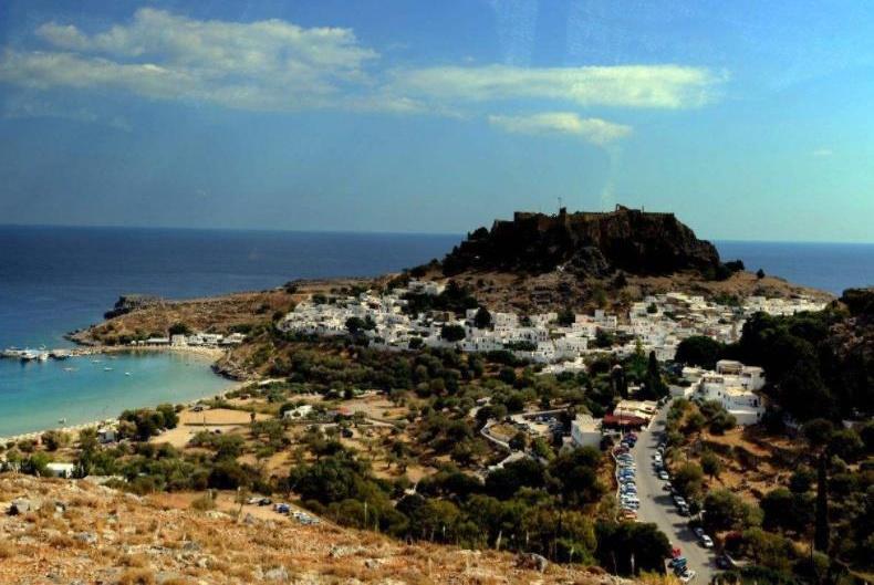 希腊一座拥有古代世界奇迹的岛屿,太阳神巨像曾经矗立在这里