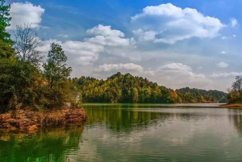 贵州绝佳的自然山水景观,可以全身心投入大自然怀抱的地方