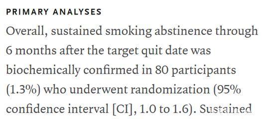 医学试验打脸:电子烟到底能不能帮助戒烟?
