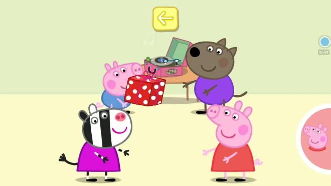 「小金豆」佩奇派对收到妈妈的惊喜礼物 小猪佩奇之情绪管理游戏