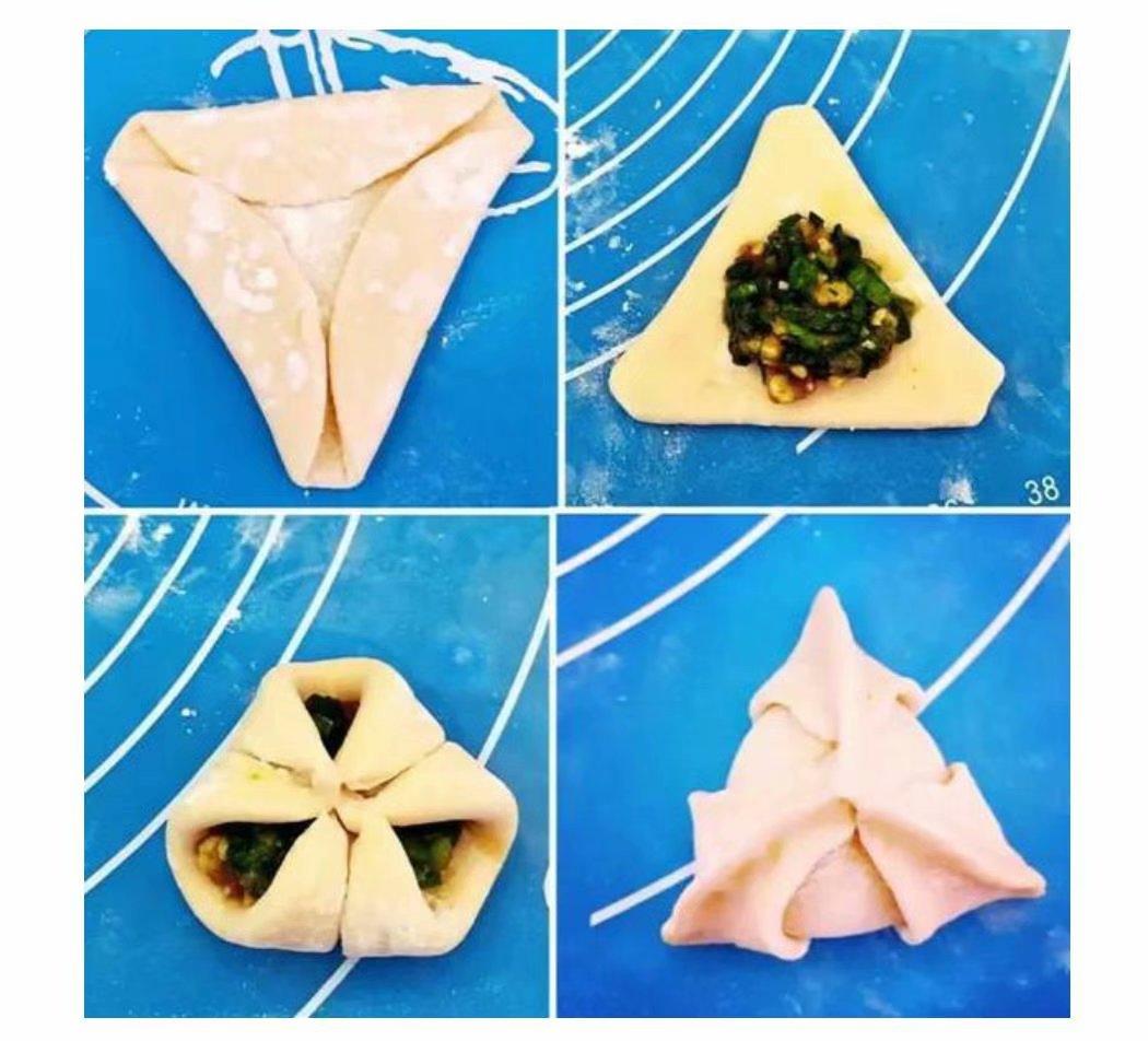 21种饺子包法详细图解,一看就会,收藏起来,下次不同款
