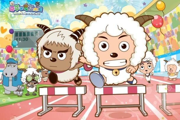 喜羊羊:速度最快的四个动物,奔羊羊垫底,第一是美羊羊的真爱