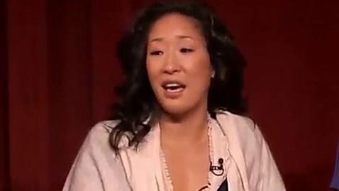 吴珊卓谈自己对扮演Cristina Yang的感想