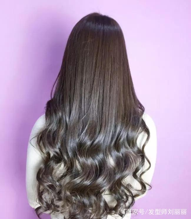 """2019适合亚洲女性的""""长发大卷""""半头烫,这样的发型最减龄!图片"""