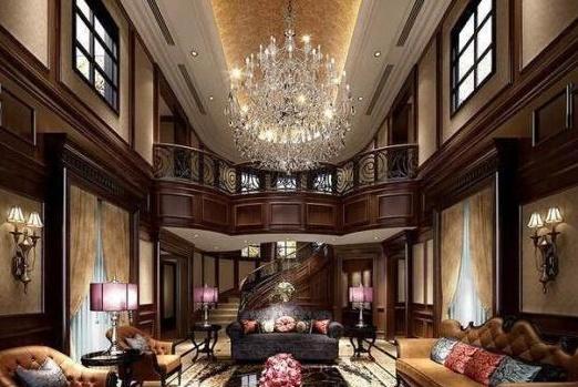 带你参观吴亦凡的豪宅:客厅水晶灯漂亮又高档,装修太豪华霸气了
