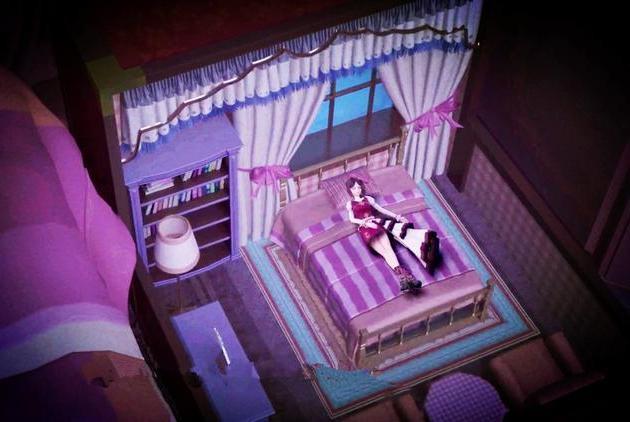 叶罗丽仙子们的房间样式,亮彩的充满童趣,罗丽的最接地气
