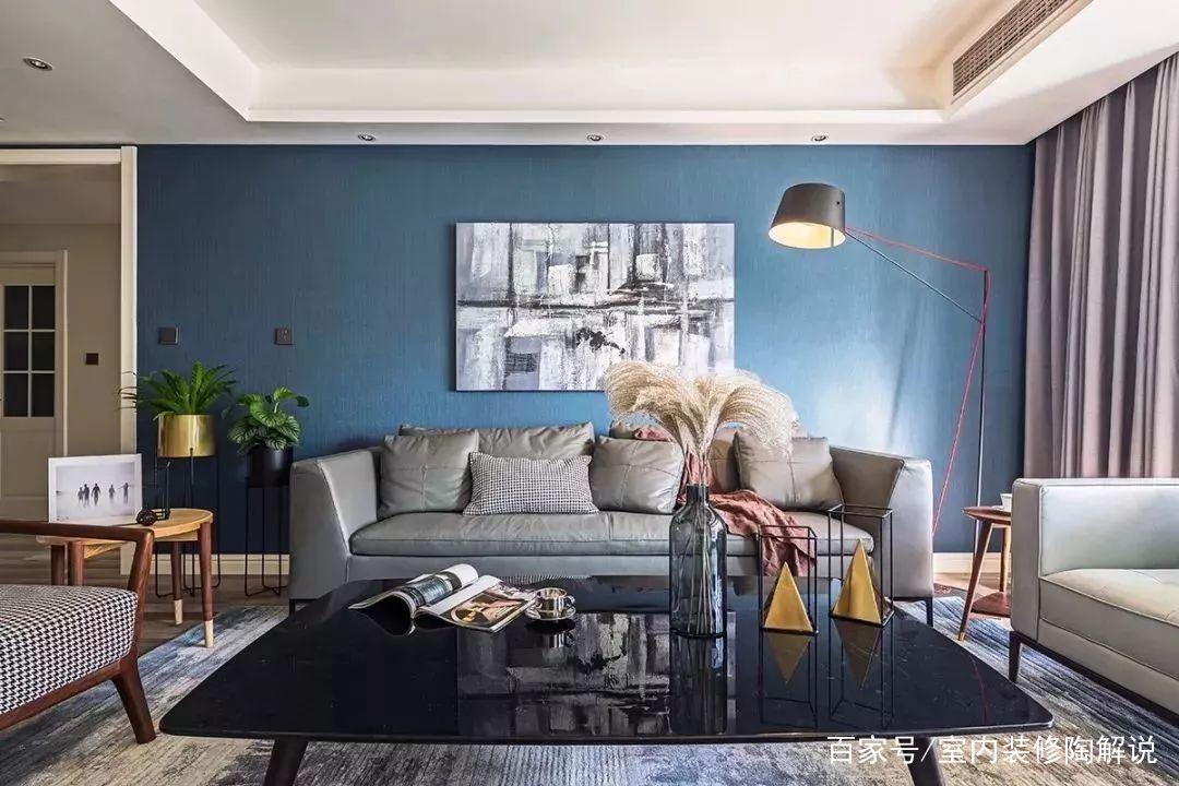 各风格皮沙发装修效果图,质感高级,超