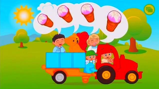 乐高德高玩具动画,长颈鹿和小兔子一起吃吃胡萝卜哈哈