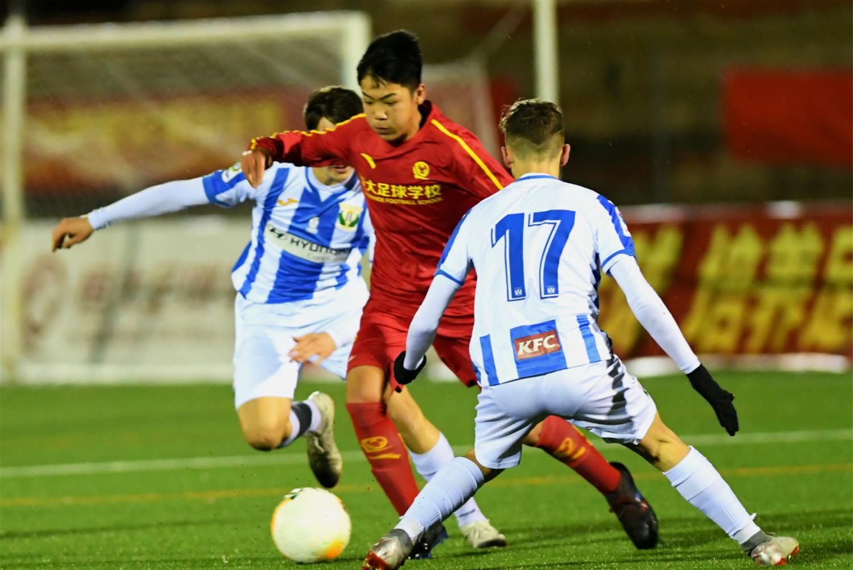 马德里赛恒大两队双双获胜 U15尖刀曾耀樟又进球了 打入赛季第5球