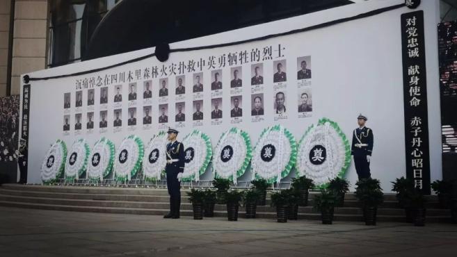 英雄永在!30名扑火英雄被批准为烈士