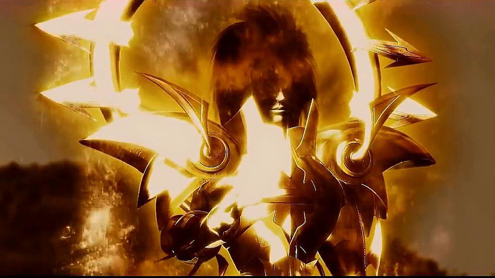 圣斗士星矢真人短片:恶魔撒旦身穿黄金圣衣进攻圣域