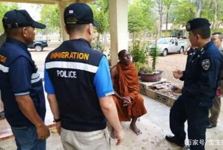 非洲游客泰国旅游做这事被捕,网友乐了:打眼一看就不像