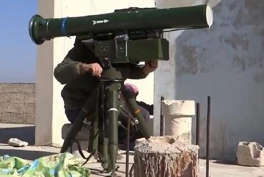 坦克杀手来袭!中国反坦克导弹叙利亚大放光彩,瞄上必死!