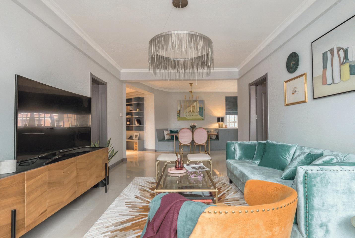 旧房焕新生,设计师不仅设计了家,更是赋予了家灵性!