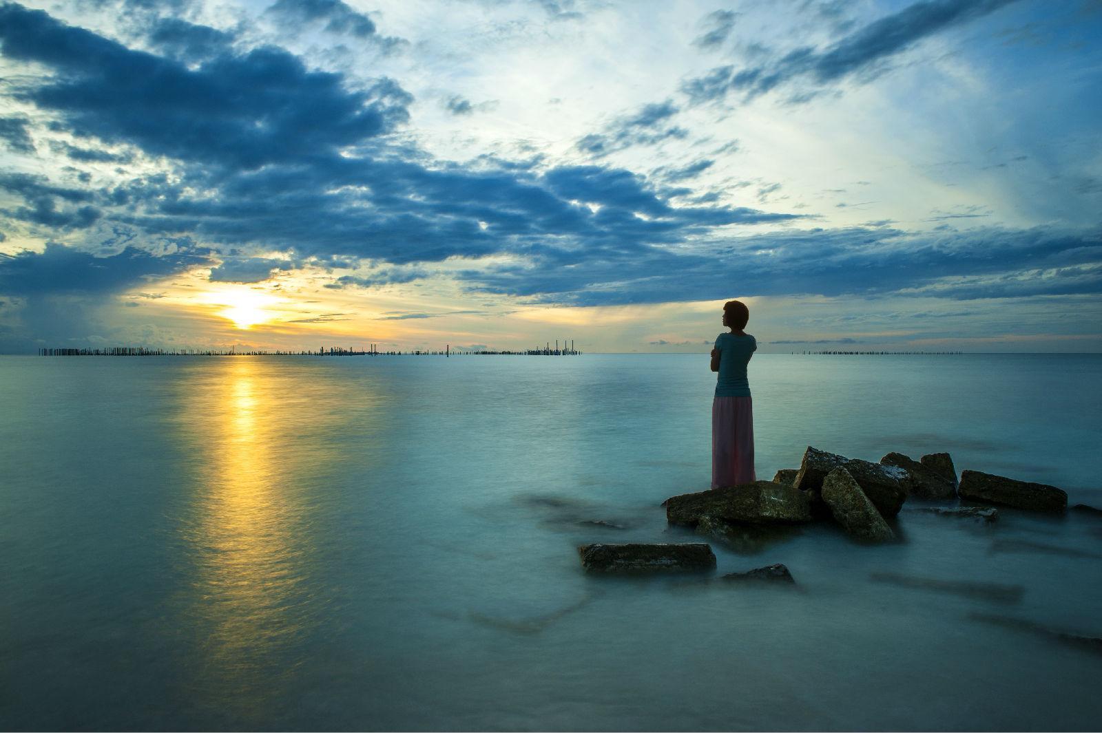 除了仙本那马布岛,万宁大花角,海水清澈的知名旅游