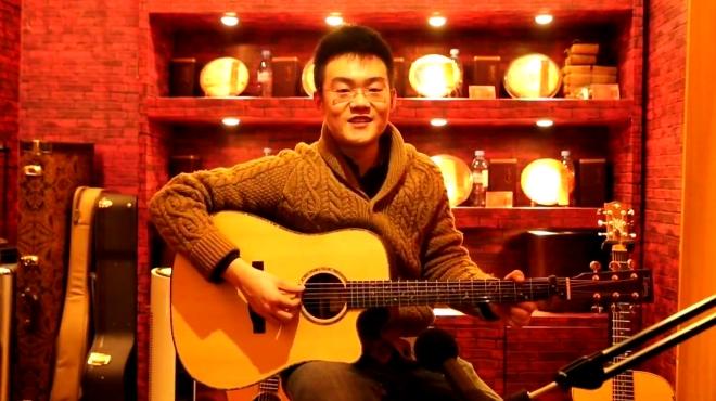 玩易吉他指弹 周杰伦《发如雪》david