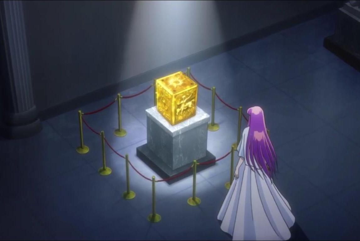 """圣斗士星矢:""""青铜圣衣箱""""纸盒模型!拿走不谢!"""