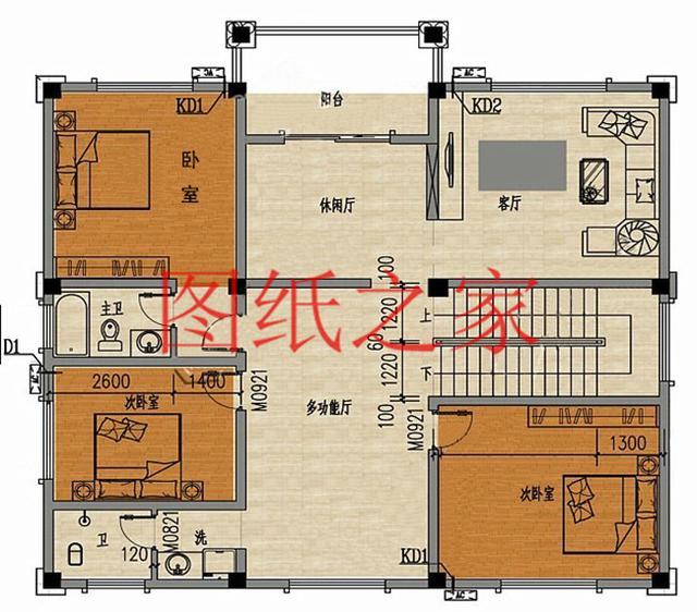 18米长8米宽建房图纸