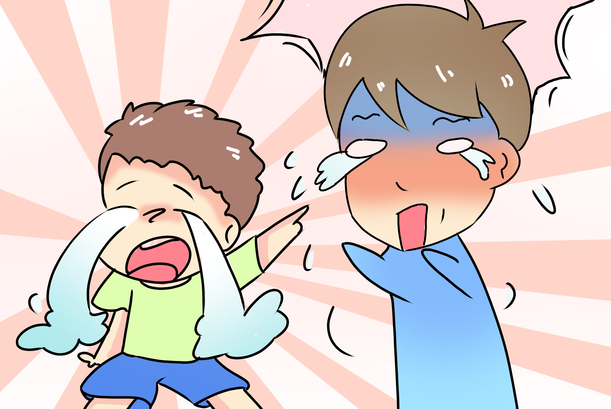 孩子胆小怕生、一摸就哭,和这三大原因有关,家长怎么做很重要
