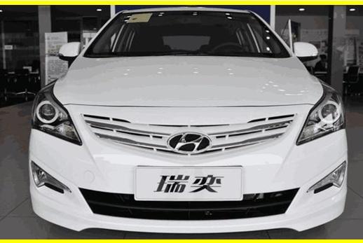 现代这小车比起亚焕驰还狠,1.4L卖4万多,艾瑞泽5和远景不敢拼价