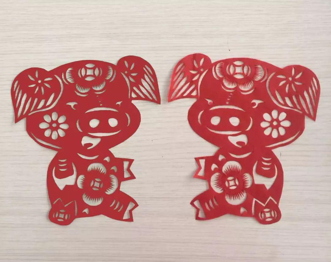 猪年到了, 分享几只喜庆的小猪, 为春节增添一份喜庆.
