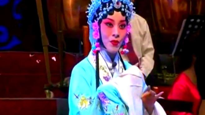 """豫剧陈派传人田敏演唱的《春秋配》选段:""""遇君子在荒郊""""!"""